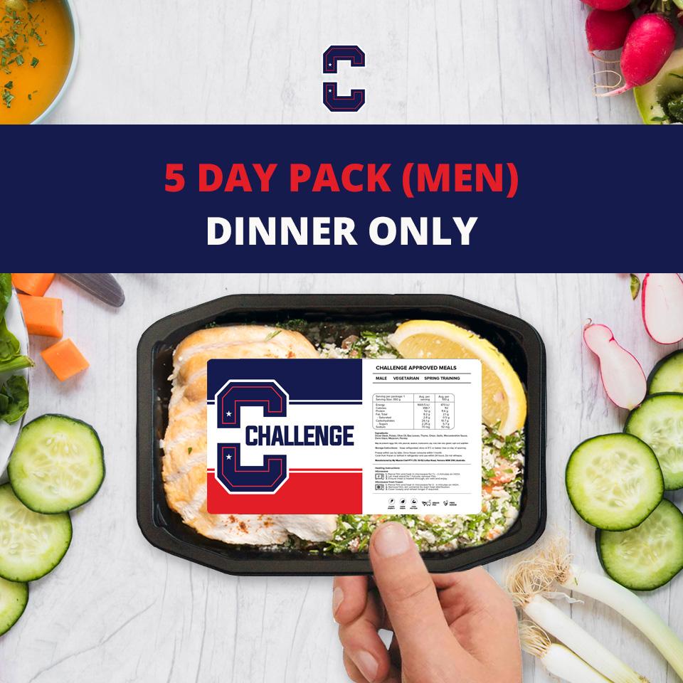 F45 5 Day Pack (Men) – DINNER