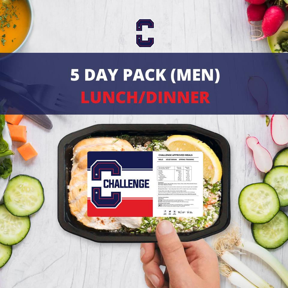 F45 5 Day Pack (Men) – LUNCH/DINNER