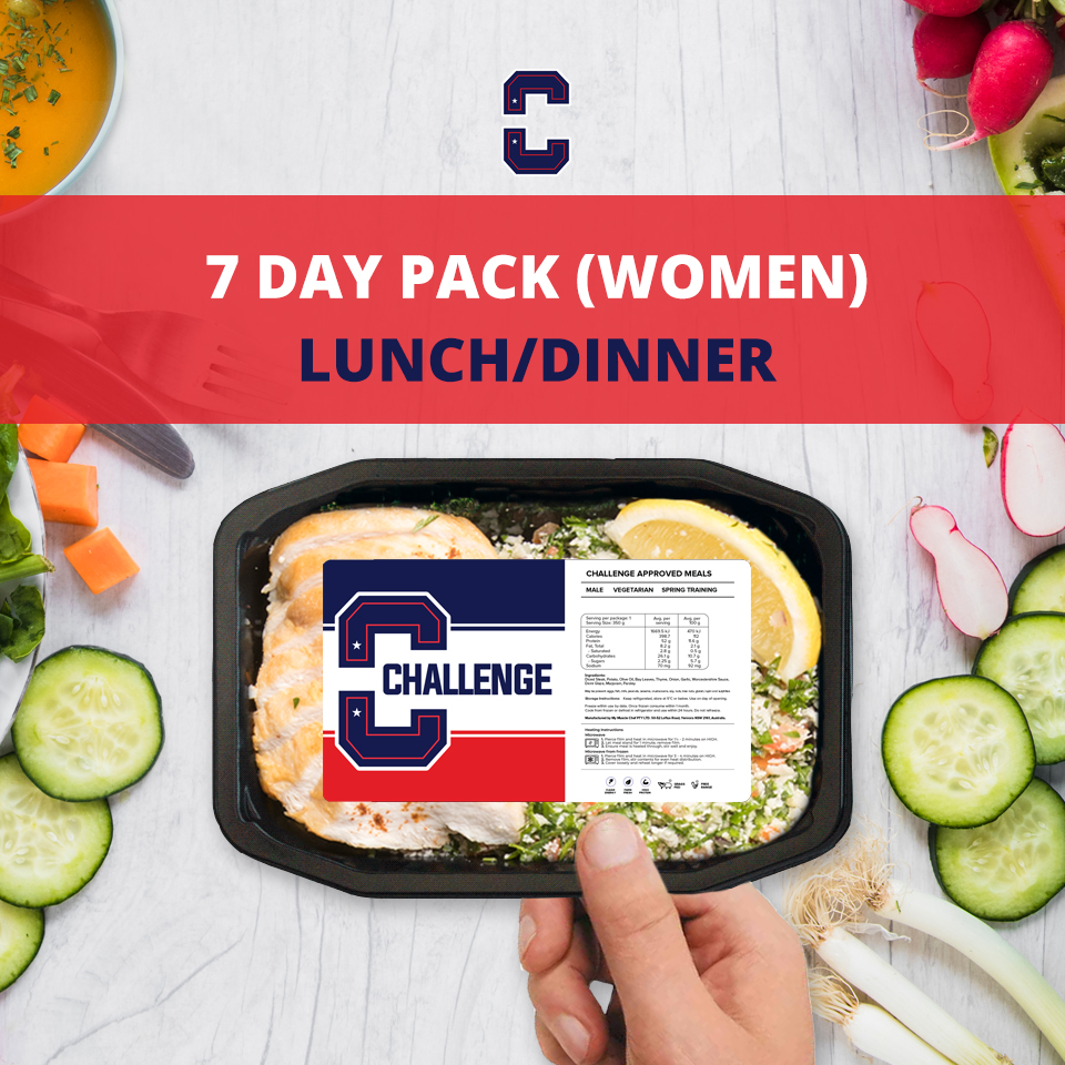 F45 7 Day Pack (Women) – LUNCH/DINNER