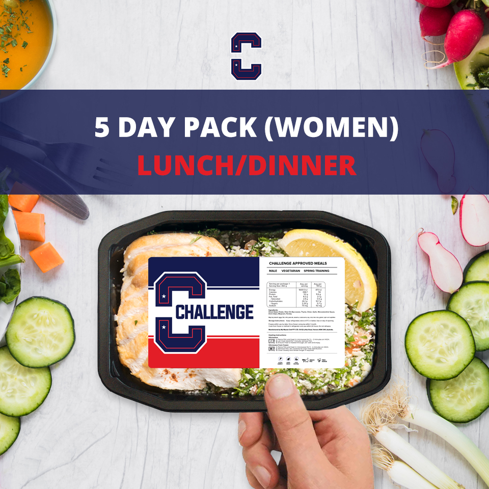 F45 5 Day Pack (Women) – LUNCH/DINNER
