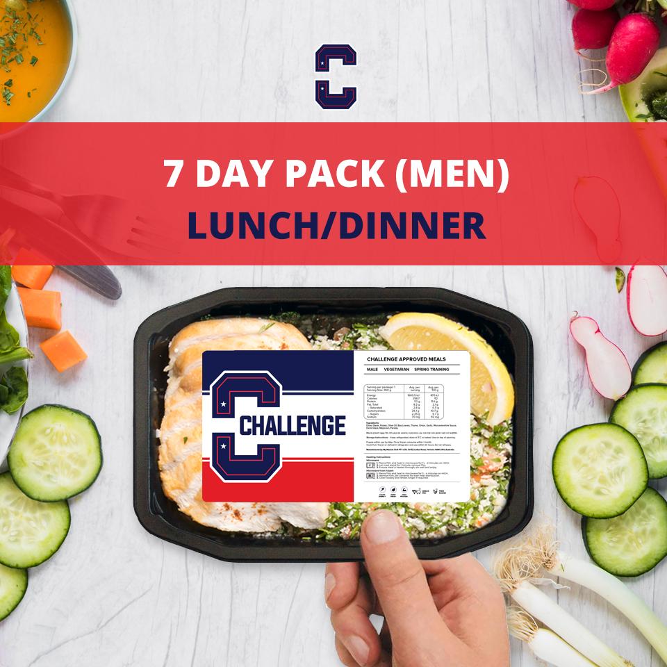 F45 7 Day Pack (Men) – LUNCH/DINNER